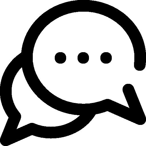 Icon of speech bubble